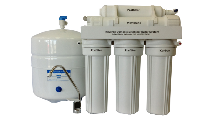 Water treatment equipment installations